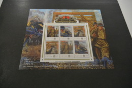 GR620 - Personalised Bloc MNh Nevis 2012 - Operation Barbarossa - 3rd Panzer Division - Non-normalised Shipment - WO2