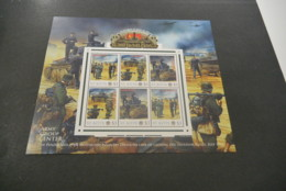 GR620A - Personalised Bloc MNh ST.Kitts 2012 - Operation Barbarossa - 7th. Panzer And Motoriz - Non-normalised Shipment - WO2
