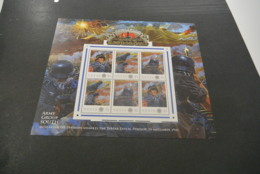 GR622 - Personalised Bloc MNh Nevis  2012 - Operation Barbarossa - 46th. Infantry -non-normalised Shipment - WO2