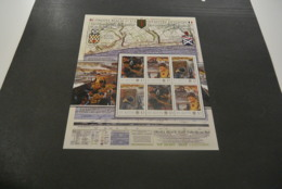 GR629 - Personalised Bloc  MNh ST.Kitts  2010 - Omaha Beach1st. US Infantry Division - Non-normalised Shipment - WO2