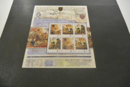 GR632 - Personalised Bloc  MNh ST.Kitts  2010 - Omaha Beach1st. US Infantry Division - Non-normalised Shipment - WO2