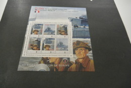GR632A - Personalised Bloc  MNh ST.Kitts  2010 - D-Day Normany - Gold Beach  - Non-normalised Shipment - WO2