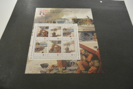 GR633 - Personalised Bloc  MNh ST.Kitts  2010 - D-Day Normany - Gold Beach  - Non-normalised Shipment - WO2