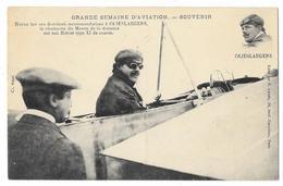 Cpa: AVIATION - BLERIOT Fait Ses Dernières Recommandations à OLIESLAEGERS Le Champion Du Monde. Ed. Labaty - Aviation