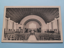NIJVERSEEL - Kerkbinnenzicht ( E. Beernaert / Gauchez Denis ) Anno 1959 ( Zie / Voir Photo ) ! - Opwijk