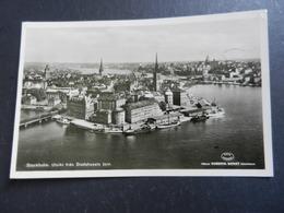 19948) STOCKHOLM UTSIKT FRAN STADSHUSETS TORN VIAGGIATA 1957 - Svezia