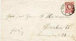 (Lo3354) Brief DR Pfg.e St. Stralsund N. Berlin - Deutschland