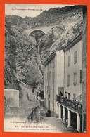 66 Canaveilles Les Bains 1928 Façade Etablissement Capcir Pas Courante Animée éditeur Labouche N°910 - France