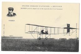 Cpa: AVIATION - SOMMER Prend Le Départ Sur Un Des Appareils Dont Il Est L'Inventeur. Ed. Labaty - Aviation