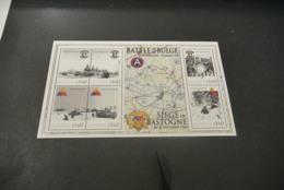 M6561 - Personalised Bloc MNh Guyana 2010 -  World War II - Battle Of Bulge - Siege Of Bastogne - WO2