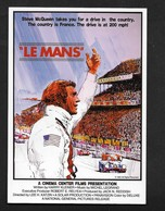Le Mans Course Voiture F1 / Film Avec Steeve Steve McQueen Reproduction Affiche Cinéma /  ATTENTION ! CP Moderne - Pin-Ups