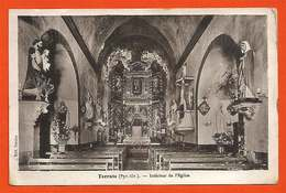 66 Terrats Intérieur De L'église Pas Courante éditeur Paraire Dos Scanné - France