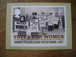 Votes Pour Les Femmes Women's Freedom League, Poster Parade C1907 Ligue De La Liberté Féminine, Défilé D'affiches - Stamps (pictures)