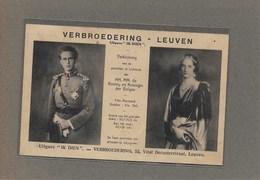 LEUVEN:  REKLAAMKAART-VERBROEDERING-LEUVEN-UITGAVE IK DIEN-KONINGSHUIS - Leuven
