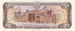 DOMINICAN REPUBLIC P. 133 20 P 1990 UNC - Dominicana
