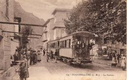 Roquebillière La Gare Du Tramway - Roquebilliere
