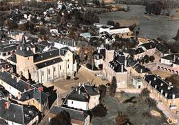 EGLETONS - La Place De L'Hôtel De Ville Et L'Eglise - Vue Aérienne - Egletons