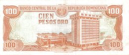 DOMINICAN REPUBLIC P. 136a 100 P 1991 UNC - Dominicana