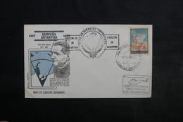 ARGENTINE - Enveloppe Antarctique En 1968 , Cachets Plaisant Dont Vol Par Hélicoptère - L 33836 - Argentinien