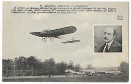 Cpa: AVIATION - DE LESSEPS Sur Monoplan Blériot N° 11 Type Traversée De La Manche - Grande Semaine D'Aviation N° 43 - Aviation