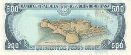 DOMINICAN REPUBLIC P. 157c 500 P 1998 UNC - Dominicana
