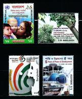 Bangladesh Nº 779/82 Nuevo - Bangladesh