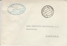 Roma. 1961. Annullo Guller ROMA 7 *PIAZZA S.IGNAZIO* + Ovale ...SEGRETERIA PARTICOLARE ...  Su Franchigia. - 1961-70: Marcophilie