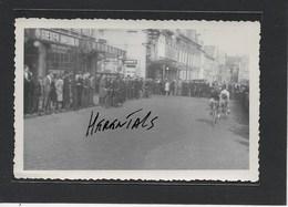 HERENTALS: GEEN POSTKAART !!!!!!!!! MAAR 1 FOTO VAN 12,50CM OP 8 CM-KOERS-WIELRENNER - Herentals
