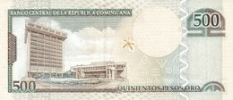 DOMINICAN REPUBLIC P. 172c 500 P 2004 UNC - Dominicana