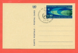 INTERI POSTALI - ONU GINEVRA - 1969 - FDC