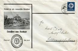 (Lo3363) Brief DR Dienst St. Laufen N. Ludwigshafen - Deutschland
