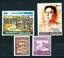 Bangladesh Nº 140/1-144-146 Nuevo - Bangladesh