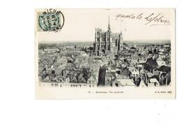 Cpa - 80 - AMIENS - Vue Générale - B.F. 59 - Cathédrale Travaux échafaudage - 1904 - Mercerie - Amiens