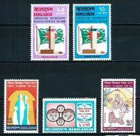 Bangladesh Nº 54/5-59/61 Nuevo - Bangladesh