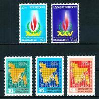 Bangladesh Nº 41/2-43/5 Nuevo - Bangladesh