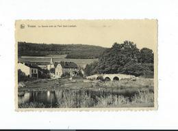 Vresse-sur-Semois - La Semois Près Pont ST. Lambert, Maisons - Circulé 1954 - Nels / Auberge Du Pont ST Lambert - Vresse-sur-Semois