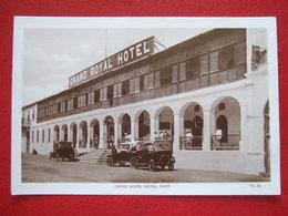 """YEMEN - ADEN - """" GRAND  ROYAL HOTEL , ADEN """" - VIEILLES VOITURES - - Yemen"""