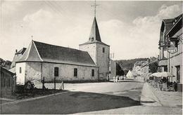 Vresse-sur-Semois - Eglise Et Grand Rue - Circulé  - Nels / Auberge Du Pont ST Lambert - Vresse-sur-Semois