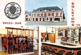 EGLETONS - Hôtel-Bar Aux Armes De Ventadour, R.N. 89 - Cliché Gossens, Tulle - Egletons