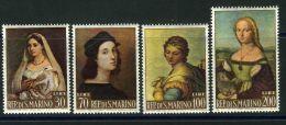 SAINT-MARIN  ( POSTE ) : Y&T N°  583/586 ,  TIMBRES  NEUFS  SANS  TRACE  DE  CHARNIERE  , A  VOIR . - Saint-Marin