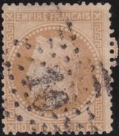 France  .   Yvert    .    28         .   O    .    Oblitéré   .   /   .    Cancelled - 1863-1870 Napoléon III Lauré