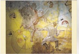 ERNI Hans Ed Jeanneret Suisse N°2349 - L'Homo Faber Et Le Vieillard Mythologique Horlogerie - CPM 10,5x15 TBE 1986 Neuve - Künstlerkarten
