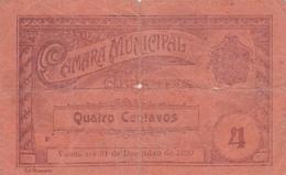 Portugal -cédula De Abrantes -nº 25   4 Centavos - Portugal