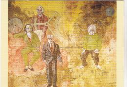 ERNI Hans Ed Jeanneret Suisse N°2350 - Mesure Du Temps  Einstein Breguet Mudge Guillaume - CPM 10,5x15  TBE 1986  Neuve - Künstlerkarten