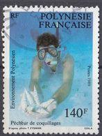 POLYNESIE Française - 1989 - Yvert 332 Usato. - Polinesia Francese