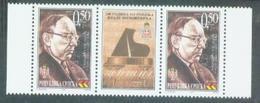 BHRS 2001-199 100A°VLADO MILOŠEVIĆ, BOSNA AND HERZEGOVINA-R.SRPSKA, 2 X 1v + Label, MNH - Bosnie-Herzegovine