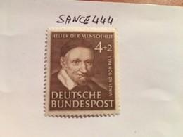 Germany Welfare V. Von Paul Priest 1951 Mnh - [7] Federal Republic
