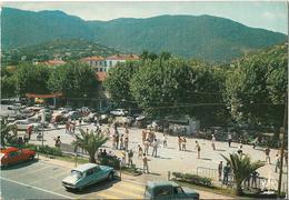 CPM/CPSM - CAVALAIRE SUR MER -  Le Jeux De Boules (voitures, DS) - Cavalaire-sur-Mer