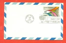 INTERI POSTALI - ONU  NEW YORK - 1975 - New York - Sede Centrale Delle NU