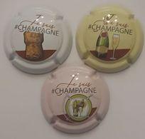 3 BELLES CAPSULES CHAMPAGNE GENERIQUE JE SUIS CHAMPAGNE NEWS - Collections